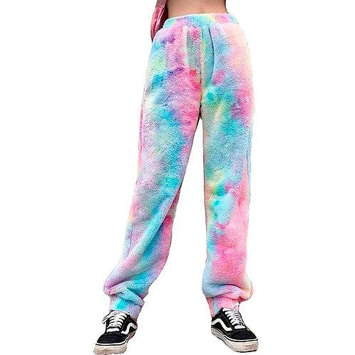 Pantalones Arcoiris / Rainbow Dye Tie Pants WH509