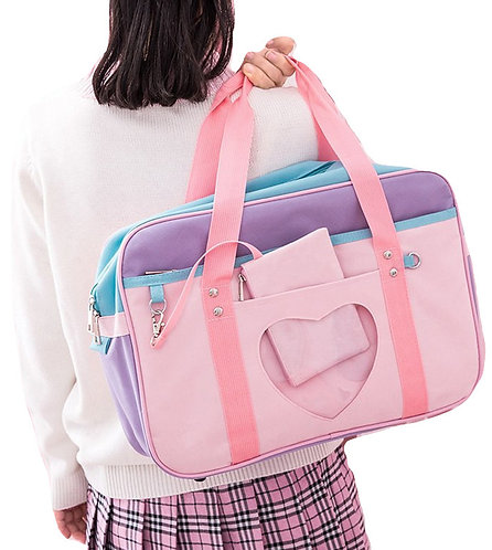 Bolso Corazon Escuela Japonesa / Japanese School Heart Bag WH184