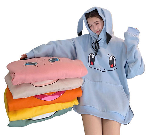 Sudadera Pokemon Oversize Hoodie WH129