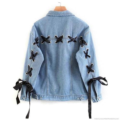 Chaqueta Vaquera Corsé / Corset Denim Jacket WH013