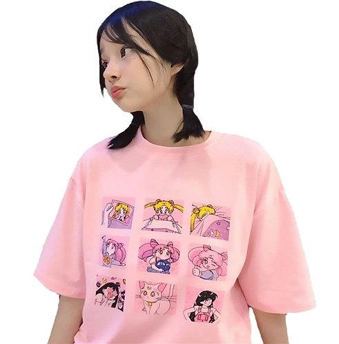 Camiseta Sailor Moon T-Shirt WH157