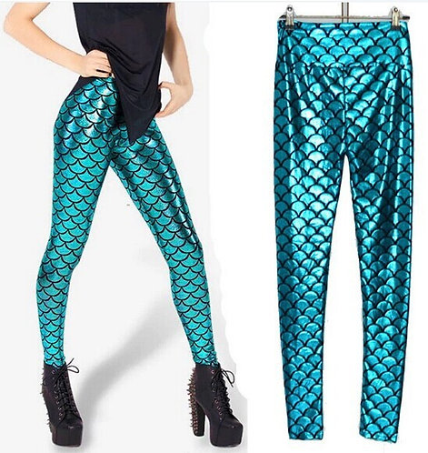 Mermaid Leggings / Leggings Sirena Wh261