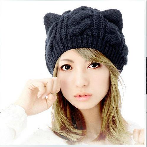 Cat Beanie / Gorro Gato WH089