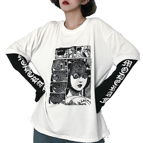 Camiseta Punk Horror T-Shirt WH081
