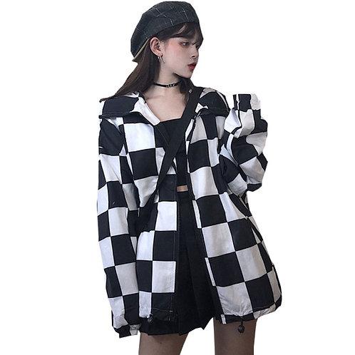 Cortavientos Damero / Checkered Windbreaker WH105