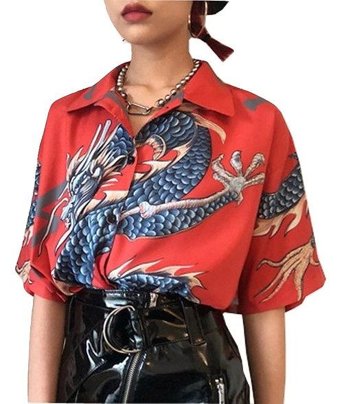 Camisa Dragon Blouse WH009