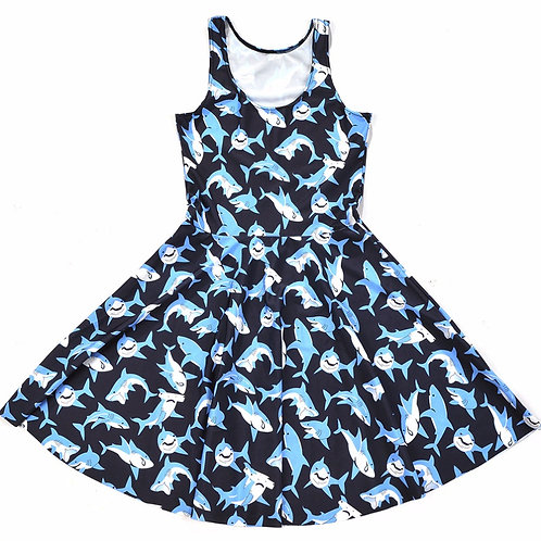 Vestido Tiburones / Shark Dress WH406