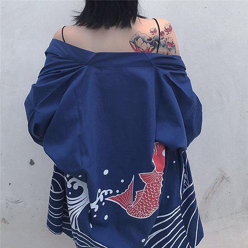 Chaqueta Pez Koi Fish Jacket WH225