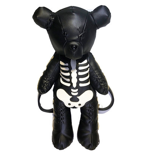 Mochila Oso Esqueleto / Skeleton Bear Backpack WH463