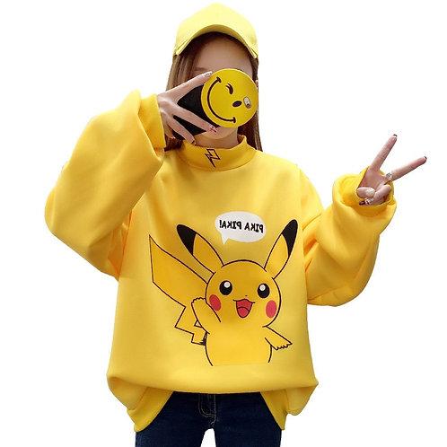 Sudadera Pikachu Pokemon Go Sweatshirt WH181