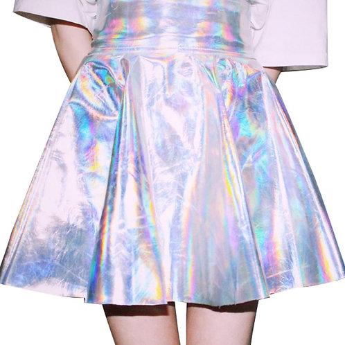Falda Laser / Iridescent Skirt WH054