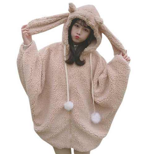 Sudadera Conejo Ciervo Jackalope Rabbit Deer Hoodie WH167