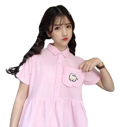 Cat Dress / Vestido Gato Wh488