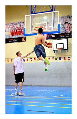 Hire a Basketball dunker