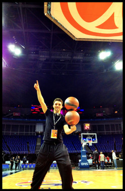 Hire a Basketball half time show
