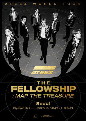 ATEEZ FELLOWSHIP : MAP THE TREASURE