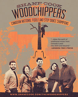 Shane Cook and The Woodchippers poster