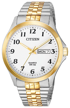 Citizen Men's Quartz Two Tone Watch | BF5004-93A