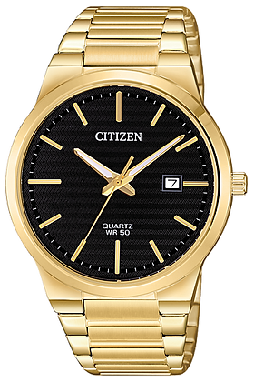 Citizen Men's Quartz Gold Tone Watch | BI5062-55E