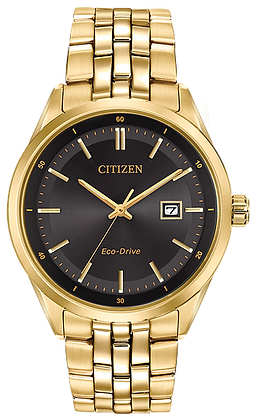 Citizen Men's Eco-Drive Gold Tone Corso Watch | BM7252-51E