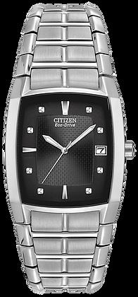 Citizen Men's Eco-Drive Chandler Watch with Black Dial | BM6550-58E