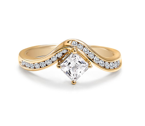 Canadian Rocks | 14K Gold and 0.67 CTW Diamond Ring