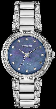 Citizen Women's Silhouette Crystal Watch | EM0840-59N