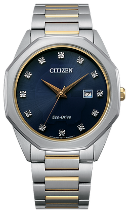 Citizen Men's Eco-Drive Corso Diamond Accent Watch | BM7494-51L