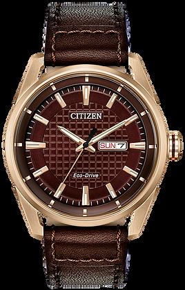 Citizen Men's Brown Eco-Drive Watch | AW0083-08X