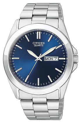 Citizen Men's Quartz Blue Face Watch   BF0580-57L