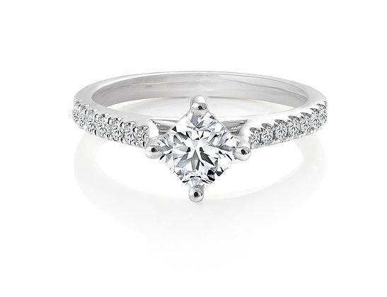 Canadian Rocks Diamond Ring