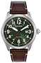 Citizen Men's Garrison Eco Drive Green Dial Watch | BM6838-09X