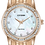 Thumbnail: Citizen Women's Silhouette Crystal Watch with Mother of Pearl Dial | EM0773-54D