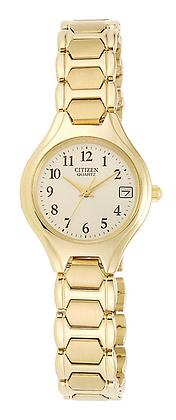 Citizen Women's Quartz Gold Tone Watch | EU2252-56P
