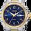 Thumbnail: Citizen Woman's Quartz Two Tone Blue Dial Watch | EQ0595-55L