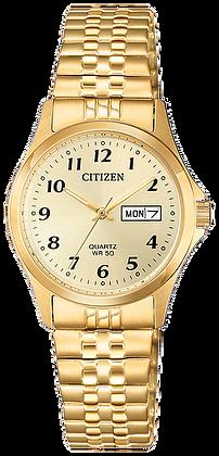 Citizen Women's Quartz Gold-Tone Expansion Watch | EQ2002-91P