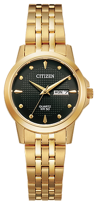 Citizen Men's Quartz Gold Tone Watch | EQ0603-59F