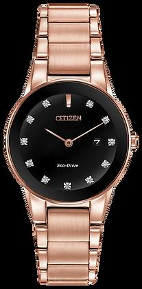 Citizen Woman's Axiom Black Dial Watch | GA1058-59Q