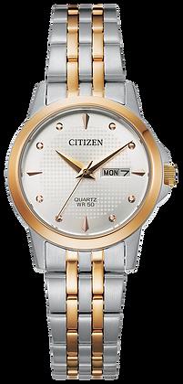 Citizen Men's Quartz Two Tone Watch | EQ0605-53A