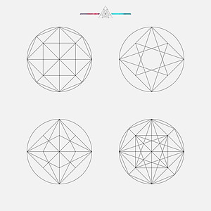 The Geometrical Patterns of PTK