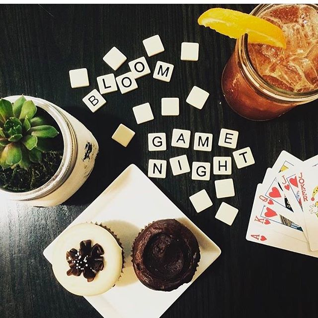 Gather up your pals and head to Bloom on Monroe tonight. Game night is happening...bring your own or