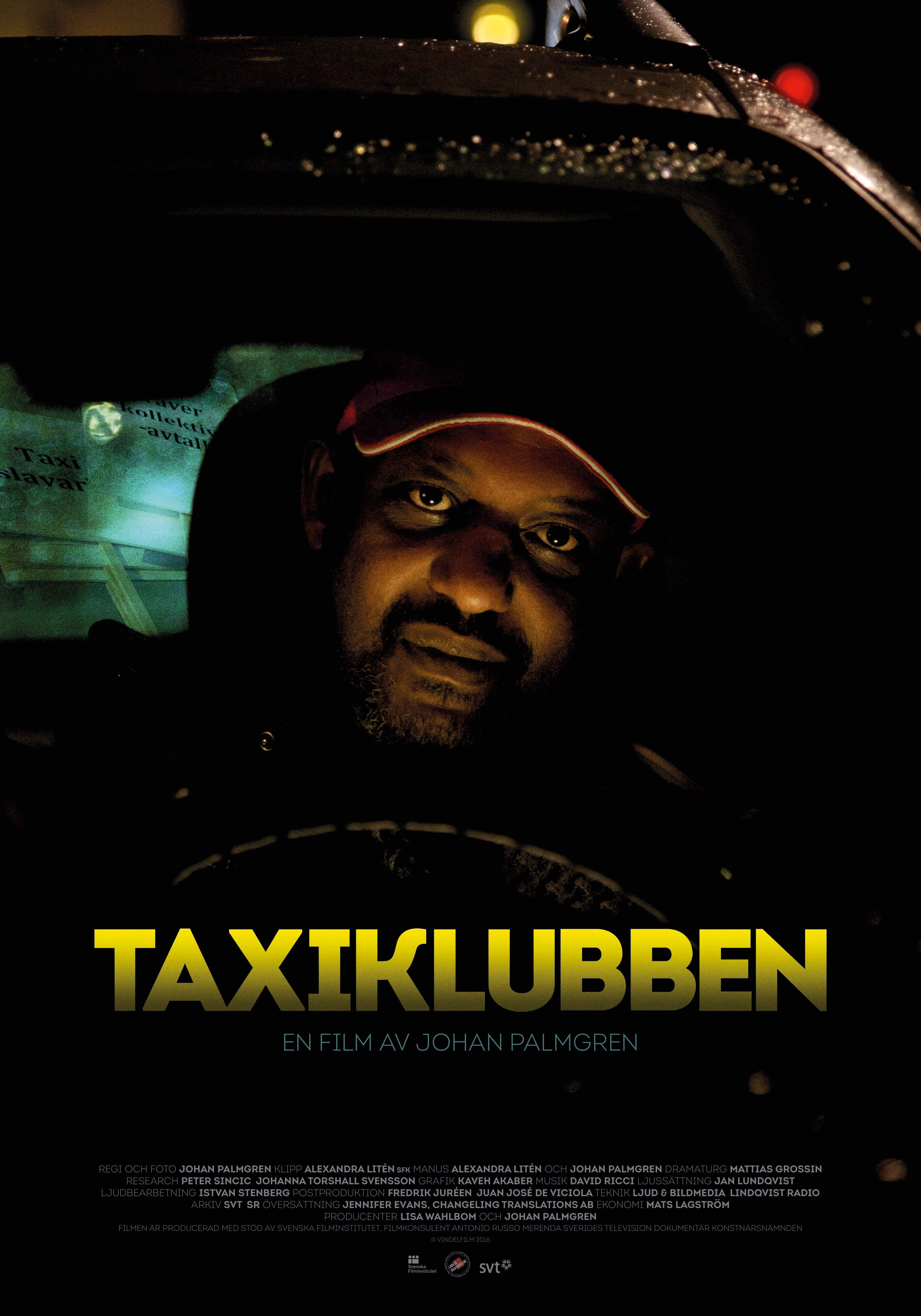 Taxiklubben-poster