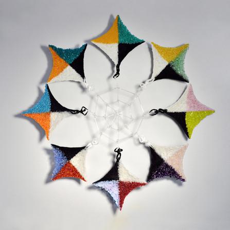 "Peace Flower- Women Connected 32"" diameter"