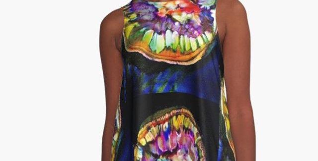 Algae A Line dress,