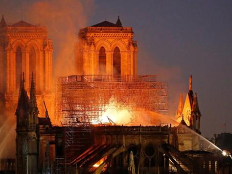 Quiz : Avril 2019 - Incendie à Notre-Dame de Paris