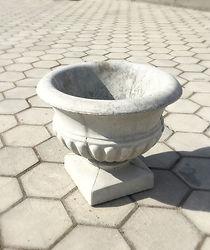 Gėlinė vaza vazonas lauko kreselis betoninis