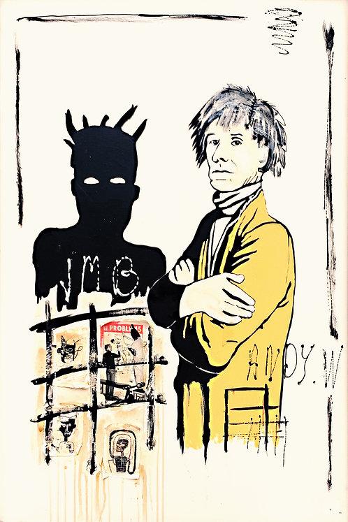 DUO ARTISTE (JMB & Warhol)