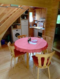 zentraler Küchentisch