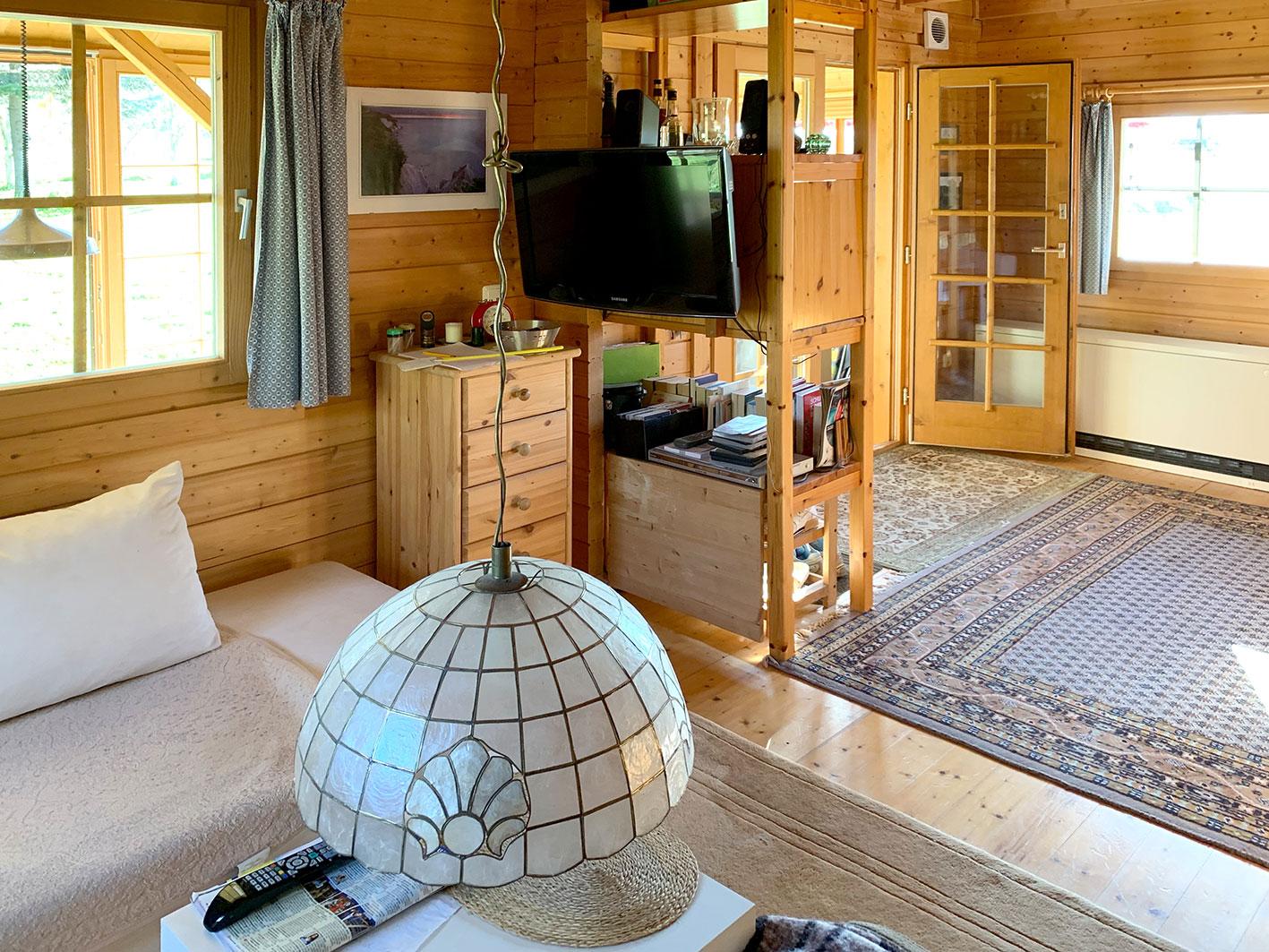 Eintrittsbereich ins Wohnzimmer