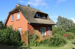 Reetdach-Ferienhaus